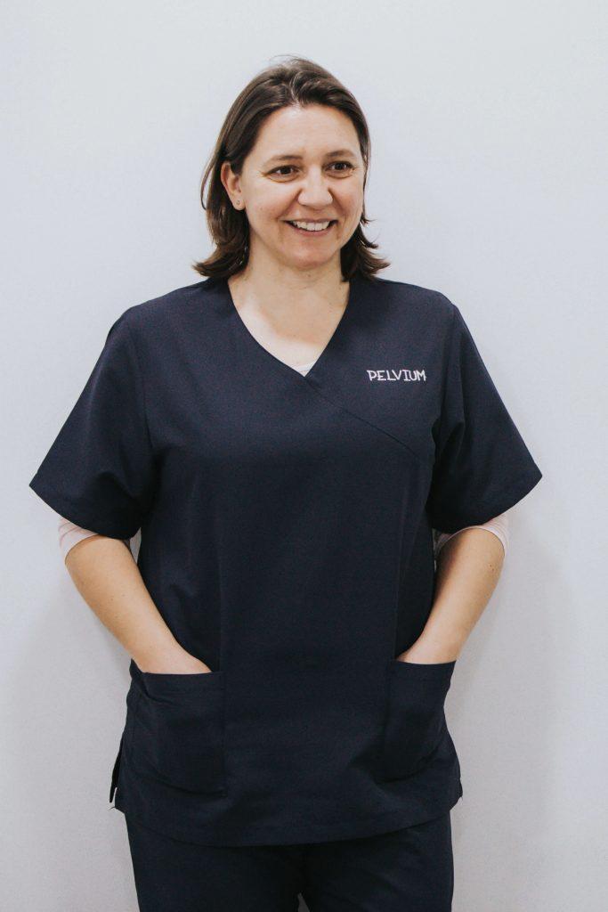 Nerea García, fisioterapeuta del suelo pélvico